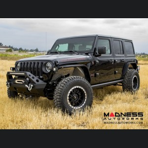 Jeep Wrangler JL Slim Fenders - Textured Black Powder Coat