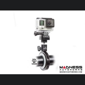 Jeep Wrangler JL Pro Mount Action Camera Mount - Black