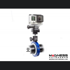 Jeep Wrangler JL Pro Mount Action Camera Mount - Blue