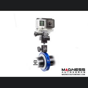 Jeep Wrangler JL Pro Mount Action Camera Mount - Blue