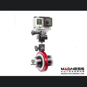Jeep Wrangler JL Pro Mount Action Camera Mount - Red