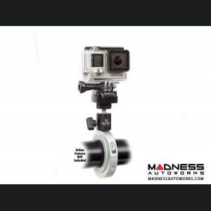 Jeep Wrangler JL Pro Mount Action Camera Mount - Silver