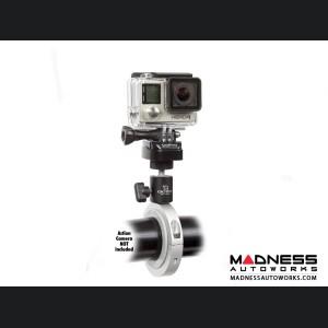 Jeep Wrangler JL Pro Mount Action Camera Mount - Silver