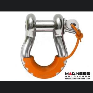 Jeep Wrangler JL Locking D-Ring Isolator - Fluorescent Orange