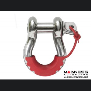 Jeep Wrangler JL Locking D-Ring Isolator - Red