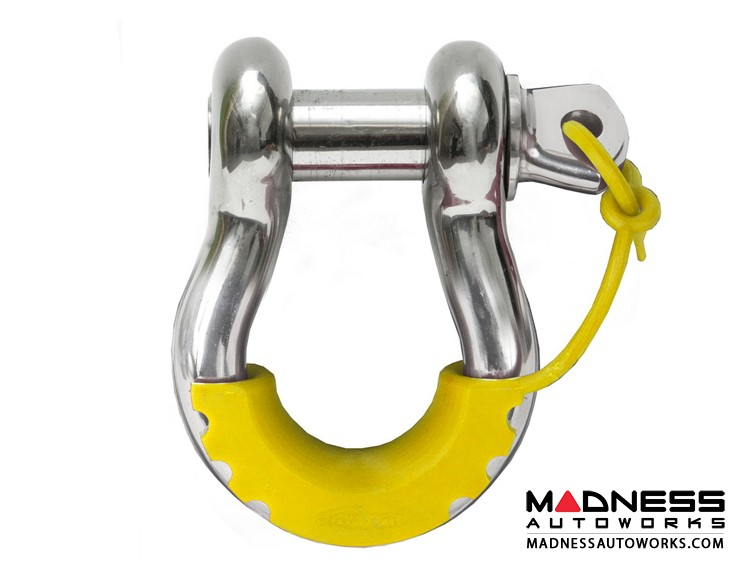 Jeep Wrangler JL Locking D-Ring Isolator - Yellow