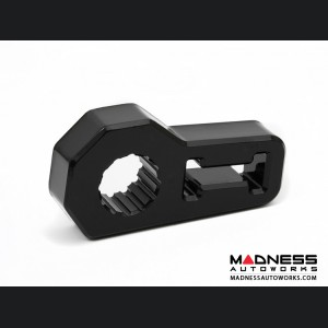 Jeep Wrangler JL Jack Handle Isolator - Black