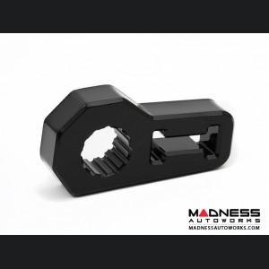 Jeep Wrangler JL Jack Handle Isolator - Black