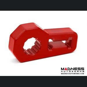 Jeep Wrangler JL Jack Handle Isolator - Red