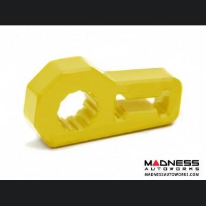 Jeep Wrangler JL Jack Handle Isolator - Yellow