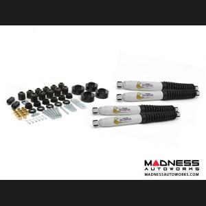 """Jeep Wrangler TJ Combo Lift Kit - 1.75"""" Lift Kit & 1"""" Body Lift w/ Scorpion Shocks - 2.75"""""""
