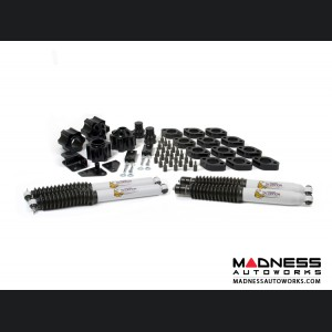 "Jeep Wrangler JK Combo Lift Kit - Fits Automatic Transmissions Only - 3"" Lift & 1"" Body w/ Shocks"