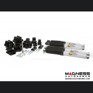 "Jeep Wrangler JK Suspension Lift Kit w/ Scorpion Shocks - 3"""