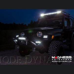 "Jeep Wrangler JL LED Light Bar w/ Bracket - 50"" - Amber Combo"