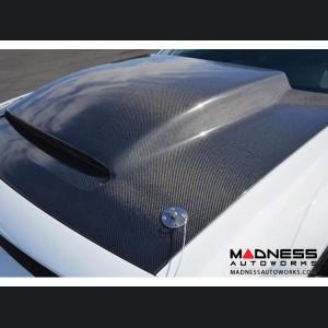 Dodge Challenger Demon Cowl-Style - Carbon Fiber Hood