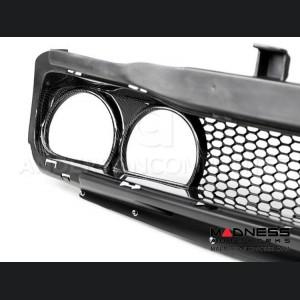 Dodge Challenger Front Grill - Carbon Fiber