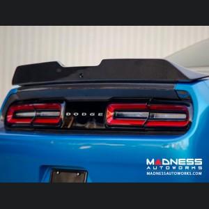 Dodge Challenger Type-SA Carbon Fiber Spoiler - Rear