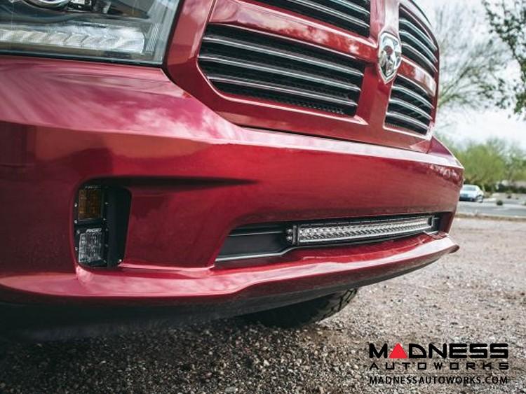 "Dodge Ram 1500 LED Light Bar Bumper Mount - SR - Series - 30"""