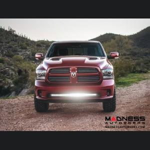 "Dodge Ram 1500 LED Light Bar Bumper Mount - Midnight SR-Series - 40"""