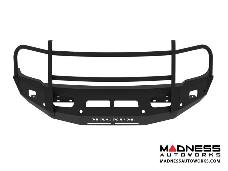 Dodge Ram 2500/3500 Magnum Grille Guard Series - Non-Winch Bumper w/ Parking Sensors - Square - Front