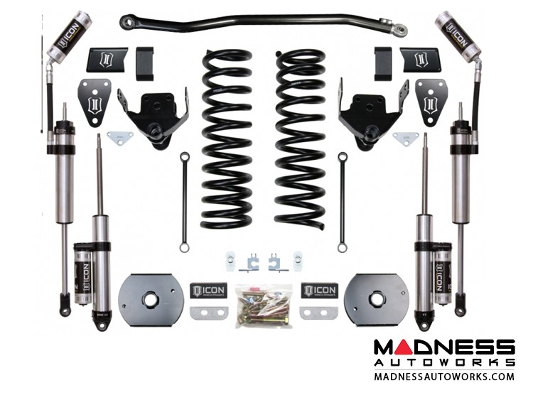 """Dodge Ram 2500 4WD Suspension System - Stage 3 (Air Ride) - 4.5"""""""