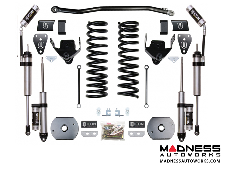 Dodge Ram 2500 4WD Suspension System - Stage 3 - 4.5""