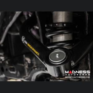 Dodge Ram 1500 4WD Delta Joint Tubular Upper Control Arm Kit - Powder Coat Finish
