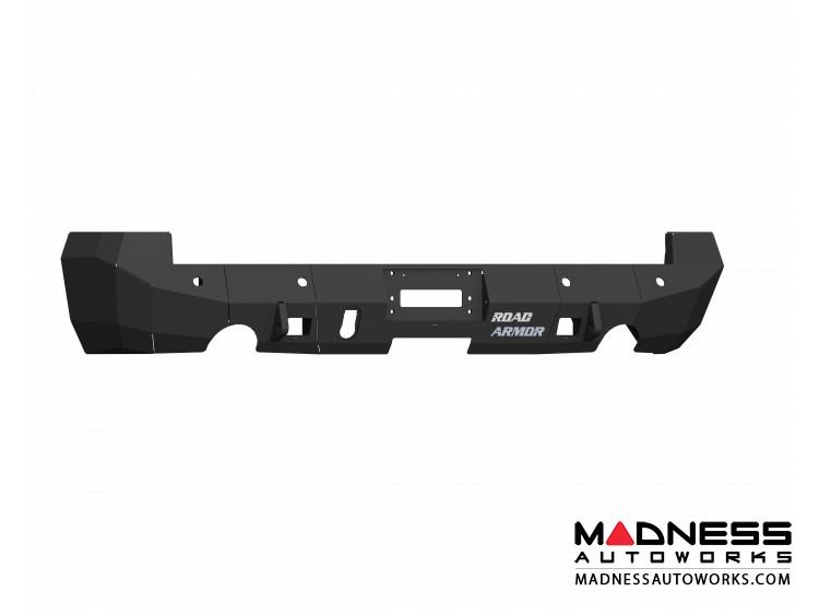 Dodge Ram 1500 Stealth Rear Non-Winch Bumper - Satin Black Road Armor