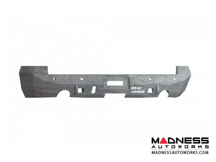 Dodge Ram 1500 Stealth Rear Non-Winch Bumper - Raw Steel Road Armor