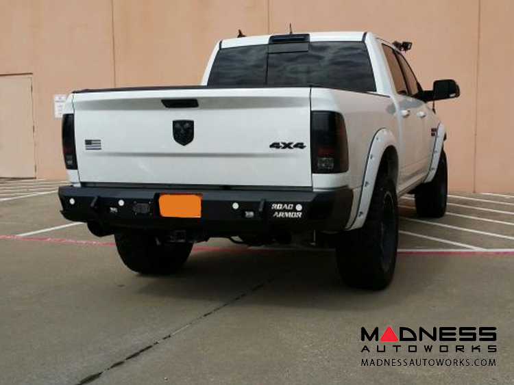 Dodge Ram 1500 Stealth Rear Non-Winch Bumper - Raw Steel