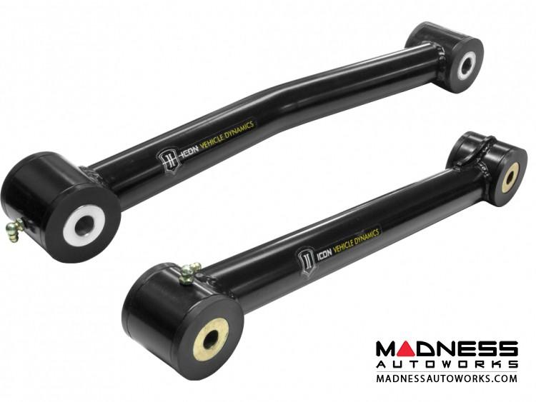 Dodge Ram 2500/3500 Tubular Upper & Lower Links - Steel - Front