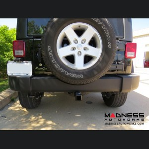 Jeep Wrangler JL Max-Frame Trailer Hitch Receiver - Custom Fit - Class III - 2""