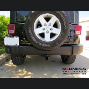 "Jeep Wrangler JL Max-Frame Trailer Hitch Receiver - Custom Fit - Class III - 2"""
