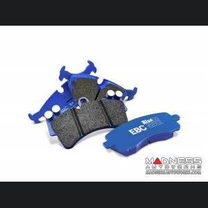 Lexus IS F Brake Pads - EBC - Front - Blue Stuff