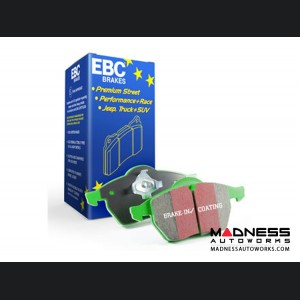 Jeep Compass Brake Pads - EBC - Front - Green Stuff
