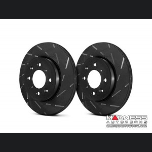 Jeep Renegade Brake Rotors - EBC - Rear - Slotted
