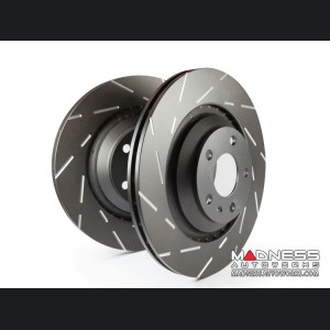 Jeep Compass Brake Rotors - EBC - Front - Slotted