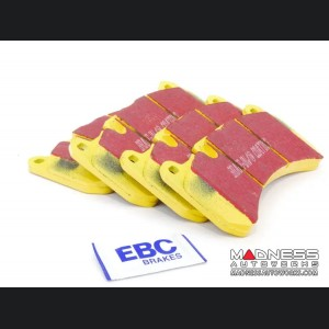 Alfa Romeo Giulia Brake Pads - 2.0L - EBC - Rear - Yellow Stuff