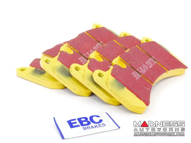 Alfa Romeo Giulia Brake Pads - 2.9L QV - EBC - Rear - Yellow Stuff