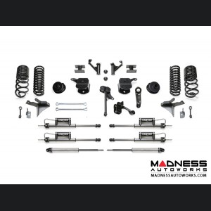 "Dodge Ram 2500 5"" Basic System w/ Coil Springs and Dual Dirt Logic Resi and Non Resi 2.25 Shocks by Fabtech (2014 - 2017) 4WD"