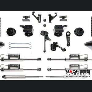 """Dodge Ram 2500 5"""" Basic System w/ Coil Springs and Dual Dirt Logic Resi and Non Resi 2.25 Shocks by Fabtech (2014 - 2017) 4WD"""
