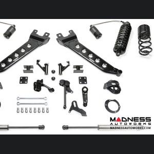 "Dodge Ram 2500 7"" Radius Arm System w/ Dirt Logic 4.0 Resi Coilovers & Dirt Logic Shocks by Fabtech (2014 - 2017) 4WD"