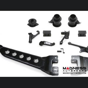 "Dodge Ram 2500 5"" Radius Arm System w/ Coil Spacers & Dirt Logic 2.25 Shocks by Fabtech (2014 - 2017) 4WD"