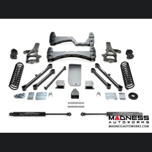 "Dodge Ram 1500 6"" Basic System w/ Stealth Rear Shocks by Fabtech (2013 - 2016) 4WD"