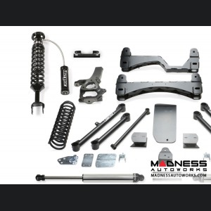 """Dodge Ram 1500 6"""" Performance System w/ Dirt Logic 2.5 Front Resi Coilovers & Rear 2.25 Shocks by Fabtech (2013 - 2016) 4WD"""