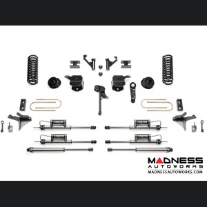 "Dodge Ram 3500 5"" Basic System w/ Coil Springs and Dual Dirt Logic Resi and Non Resi 2.25 Shocks by Fabtech (2013 - 2017) 4WD"