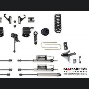 """Dodge Ram 3500 5"""" Basic System w/ Coil Springs and Dual Dirt Logic Resi and Non Resi 2.25 Shocks by Fabtech (2013 - 2017) 4WD"""