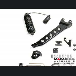 "Dodge Ram 3500 7"" Radius Arm System w/ Dirt Logic 4.0 Resi Coilovers & Dirt Logic Shocks by Fabtech (2013 - 2017) 4WD"