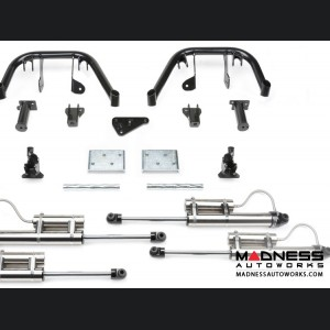 """Ford F 250/ 350 6"""" Multiple Front Shock System w/ Dirt Logic 2.25 Resi Shocks by Fabtech - 4WD (2011 - 2016)"""