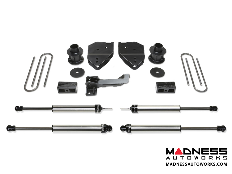"Ford F 250/ 350 4"" Budget System w/ Dirt Logic SS Shocks by Fabtech (2008 - 2016) 4WD"